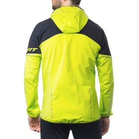 Dynafit Speedfit WinDynastretchopper - Veste course à pied Homme - jaune/noir